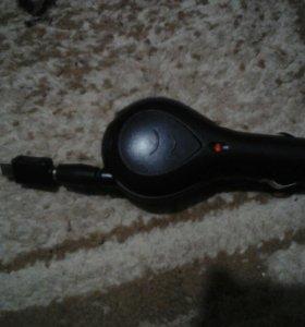 Зарядник для телефон для использования  в машине