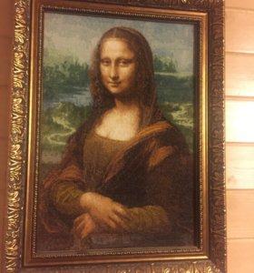 Вышивка крестиком Мона Лиза