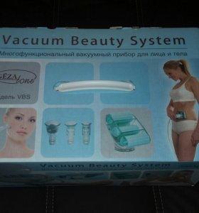 Многофунк-ный вакуумный прибор для лица и тела