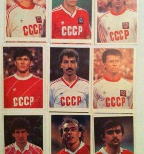 Футболисты. СССР.