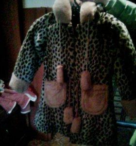 Детская куртка на девочку 7-8 лет