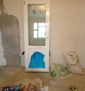 Дверь пластиковая новая