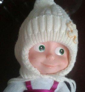 Детская шапка  зимняя