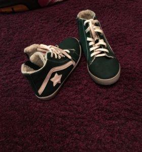 Детские ботиночки, новые, размер 32