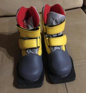 Лыжные ботинки marax, 30 размер. На липучках