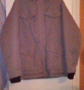 Тёплая новая мужская куртка
