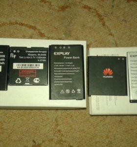 батареи;телефоны