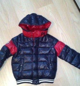 Демисезонная куртка для мальчика,Benetton, 122-128