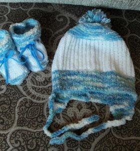 Пинеточки, шапочки для малышей