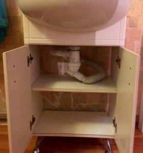 Продам раковину с тумбой для ванной комнаты