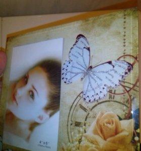 Рамка для фото стеклянная