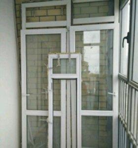 Балконный блок и балконная дверь