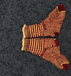 Носки вязаные детские