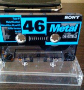 Аудиокассета sony
