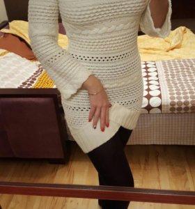 Вязаное платье - туника love republik