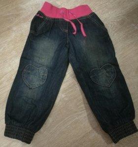 Новые Штаны джинсовые 98р