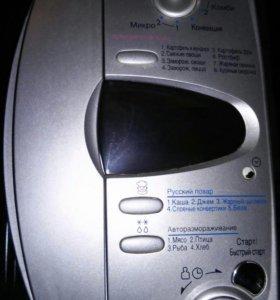 Микроволновая печь с грилем и конвекцией