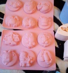 Большой пакет форм для мыла !!!