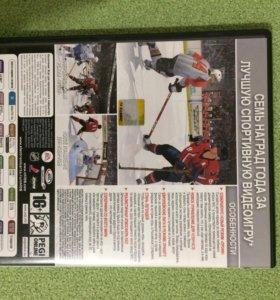 Лицензионный диск игра NHL 09