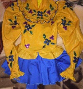 Платье для фигурного катания, 116 см