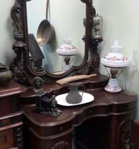 Комод с подзеркальником 19 век