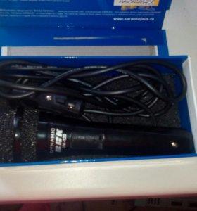 Микрофон новый