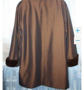 Пальто (осень-зима) с норкой