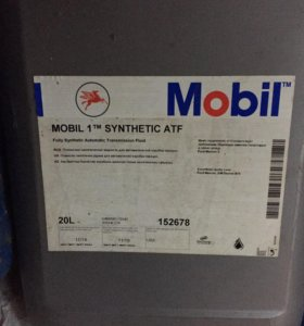 масло mobil synthetic atf