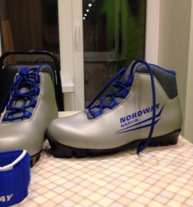 Лыжы палки ботинки