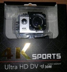 Экшен камера 4K Ultra HD DV