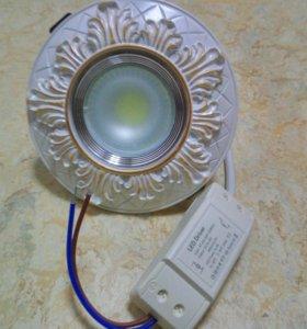 Встраиваемый светодиодный светильник 5W