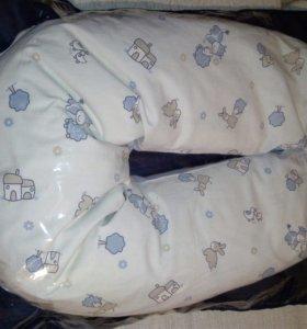 Подушка для беременных, кормящих мам и малышей.