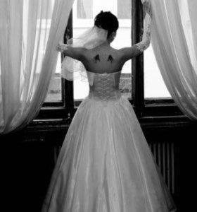 Свадебное платье рр44 - 48