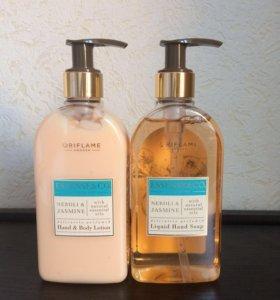 Набор(Жидкое мыло и лосьон для рук и тела)