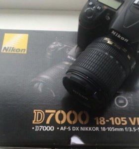 Nikon D7000 18-105 VR KIT
