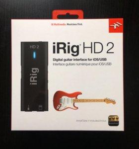 New iRig HD 2 + 12 платных приложений
