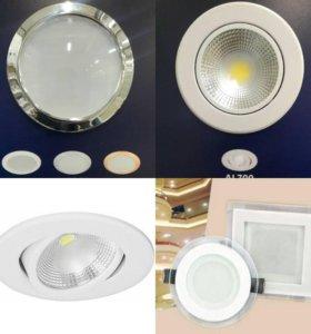 Светильники светодиодные от 3 до 30вт