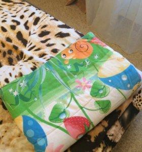 Продам детс одеялко 140 длина,ширина 98