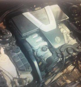 Мотор м137 мерседес w220/215