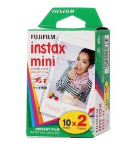 Картриджи для instax mini