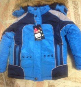 Куртка м зима новая!