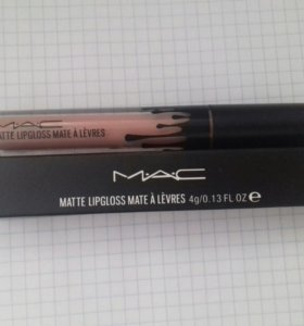 Матовая жидкая помада MAC