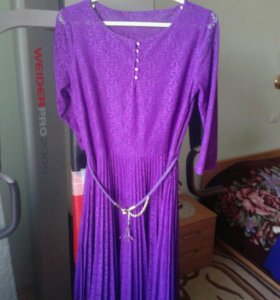 Платье фиолетовое Турция