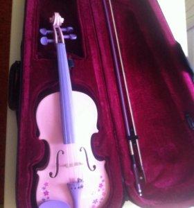 """Скрипка для нежной девочки """"Барби"""""""