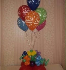 Фигуры из шаров, гелиевые