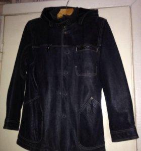 Продам муж.кожаную куртку