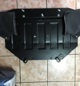 Защита картера двигателя Audi A6C5