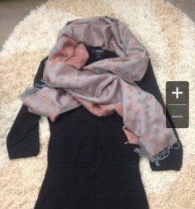 Платье шарф