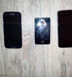 Телефоны Sumsung galaxy s4,Cromax,Nokia ashamed501