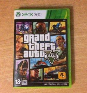 Игра для Xbox 360 Granb theft avto 5